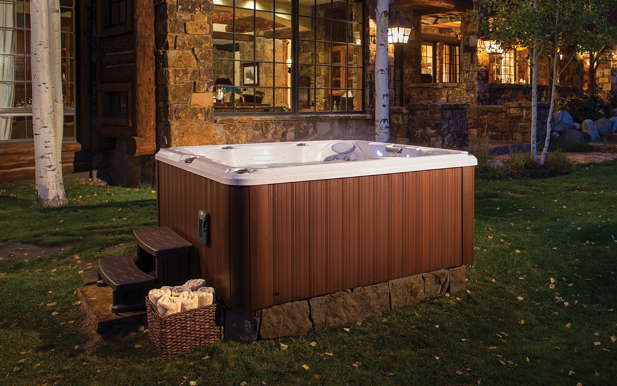 Jacuzzi Hot Tubs J-245 Installation in West Virginia and Pennsylvania