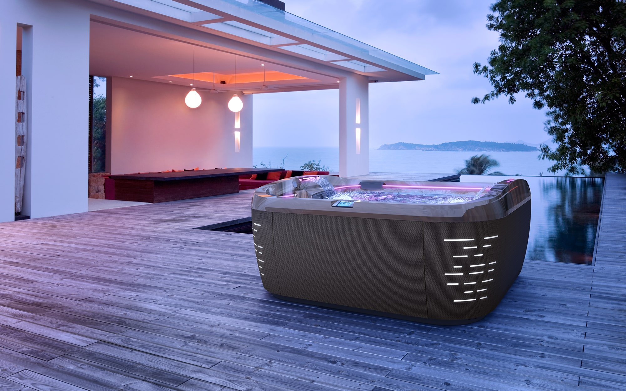 Jacuzzi Hot Tubs J-575 Installation in West Virginia and Pennsylvania